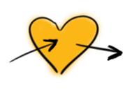 Un cœur illustrant l'empathie